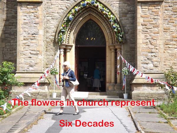 St Paul's Walkden Jubilee Flower Festival