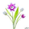 Bright Tulips 2