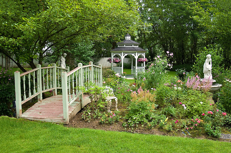 The French Garden, Manchester, VT