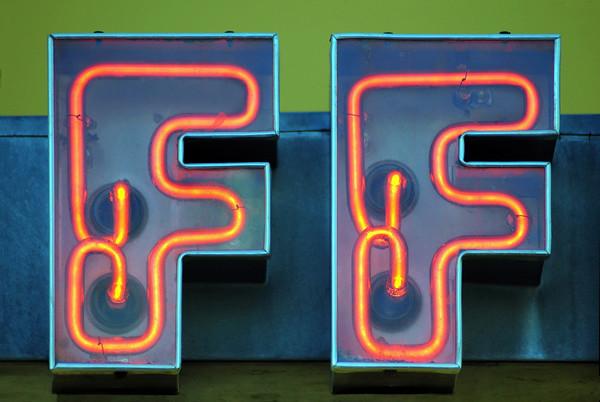 F's In Neon