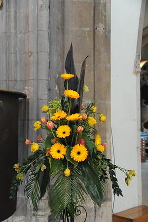 Flowers Trinity Sunday