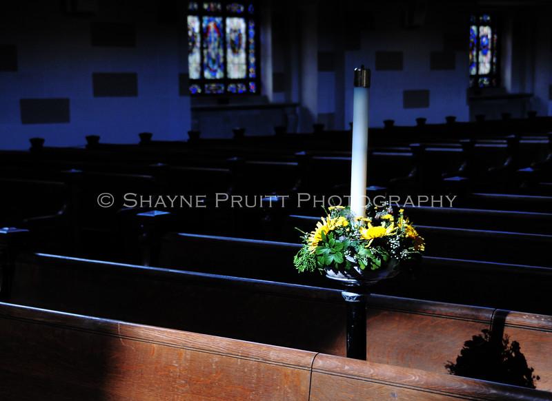 Chapel Flowers, U.S. Naval Academy, Annapolis, Maryland