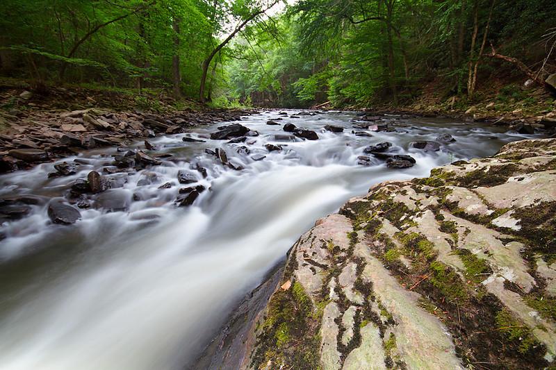 Trough Creek State Park in Pennsylvania.