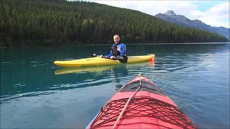 Tye our new Bowman Ranger practicing his kayak roll