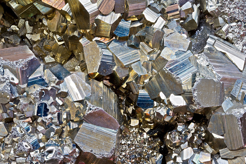 """Pyrite Crystals"""