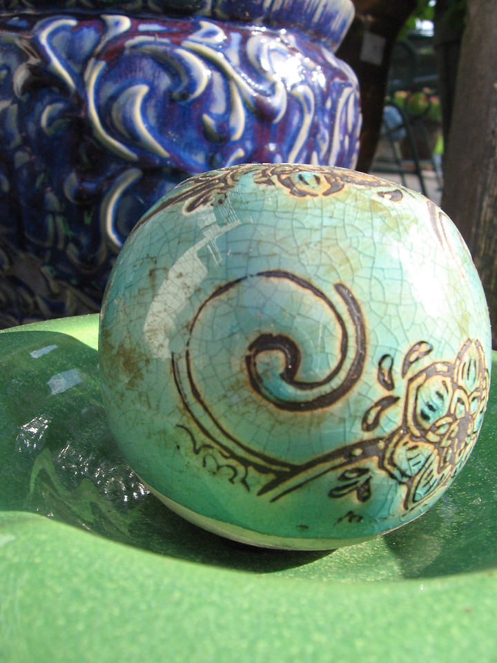 Decorative ball.