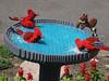 LEGO birdbath