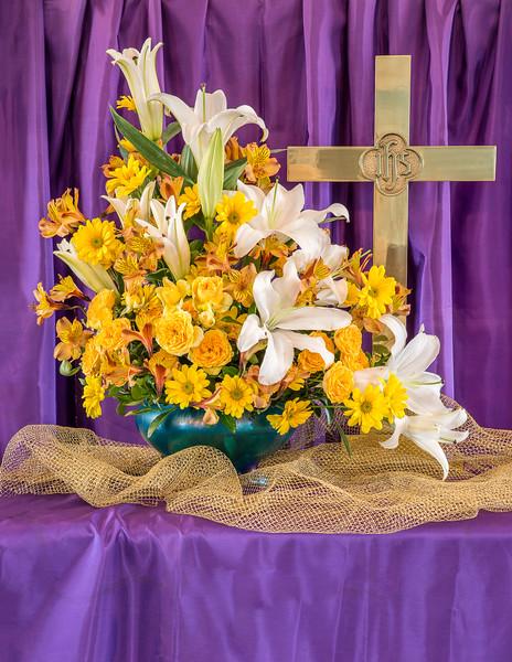 Art's Easter Flowers 2017