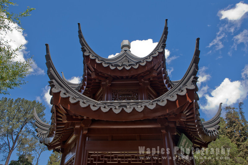 Chinese Pavillion and Sky