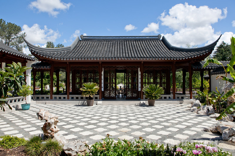 Courtyard, Chinese Garden