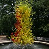 Georgia, Atlanta, Botanical Garden, a Chihuly glass sculpture