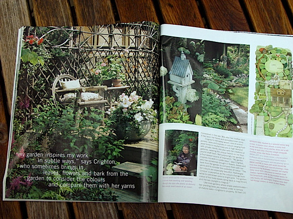 this garden featured in Canadian House & Home Gardening Life ,June 2005