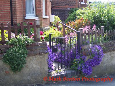 English Entrance Flower Garden