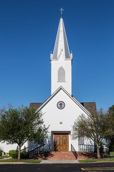 Church, Old Independence Rd., near Brenham, TX