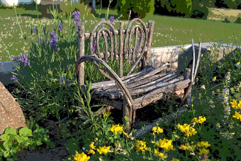 Herb Garden Art
