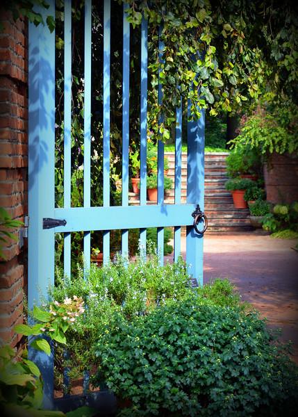Garden Gate<br /> <br /> Daily Photos  -  September 30, 2011<br /> <br /> Happy Friday Everyone!!!