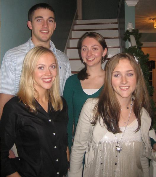 Four Wonderful children.  (yes we finally found Dan)