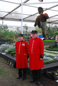 Chelsea Pensioners at Chelsea Flower Show 2008