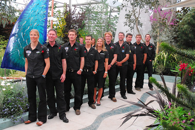 Great Britain Olympic sailing team 2008