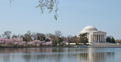 Jefferson Memorial from across the tidal basin, Washington, D.C.
