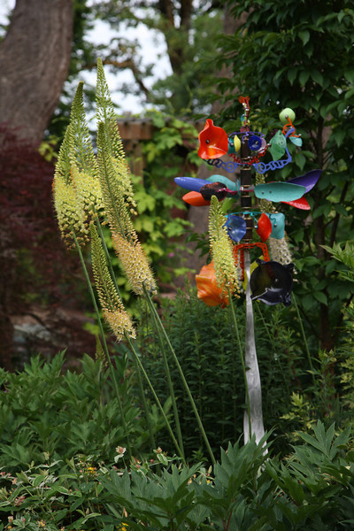 BLOWING IN THE WIND...<br /> KINETIC SCULPTURE BY ANDREW CARSON
