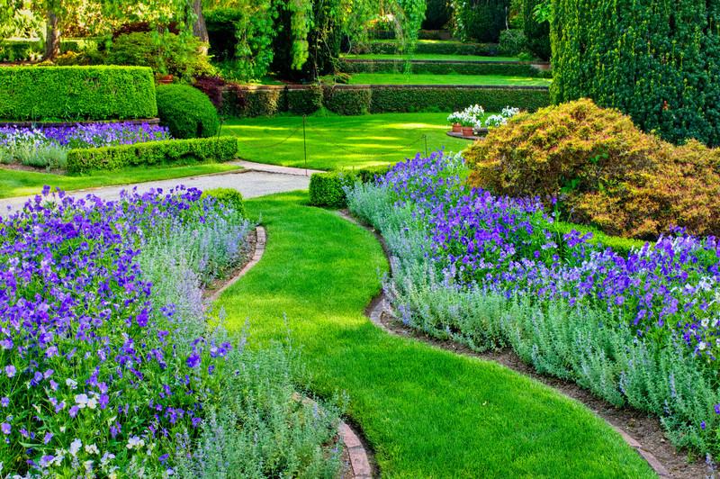 """A Walk Through Filoli Gardens in Spring""  Filoli Gardens in Woodside, California"