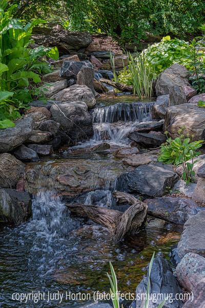 Stream and Waterfall