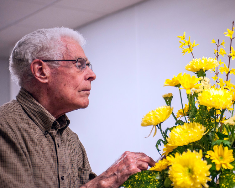 Flower Arranging with Art