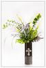 Green Flower Arrangement Wall Art 8056.02