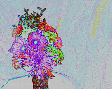 Flower Bouquet, 10 X 8in,Rictographs Images