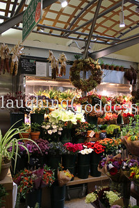 Title: New York City Flower Stall