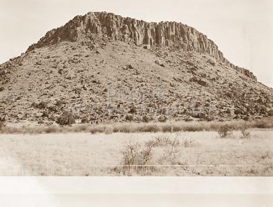 1009.303 Fort Davis Texas Antique Black and White