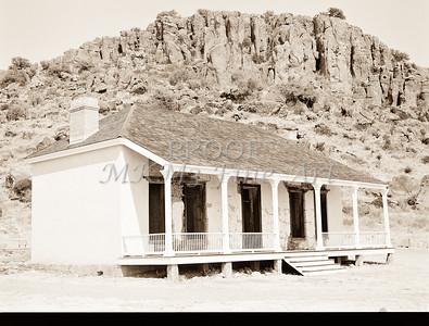 1009.310 Fort Davis Texas Antique Black and White