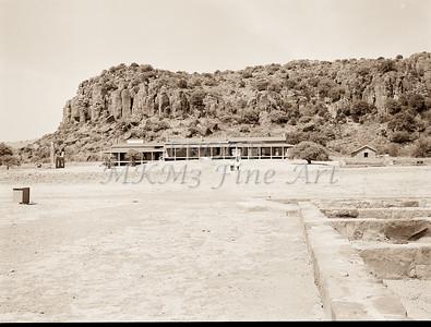 1009.314 Fort Davis Texas Antique Black and White