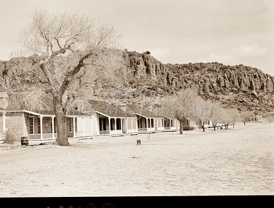 1009.312 Fort Davis Texas Antique Black and White
