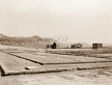 1009.300 Fort Davis Texas Antique Black and White