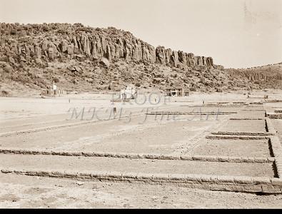 1009.302 Fort Davis Texas Antique Black and White