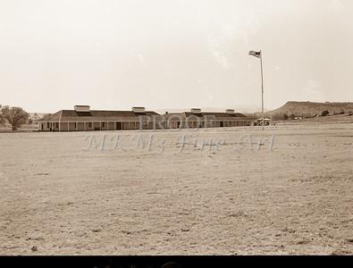 1009.308 Fort Davis Texas Antique Black and White