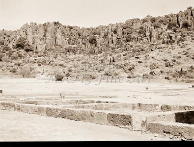 1009.313 Fort Davis Texas Antique Black and White