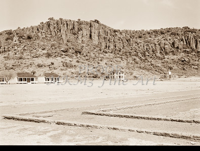 1009.301 Fort Davis Texas Antique Black and White
