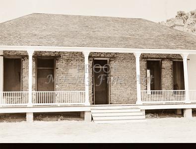 1009.309 Fort Davis Texas Antique Black and White