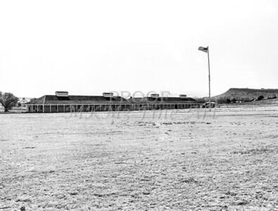 1009.508 Fort Davis Texas Classic Black and White