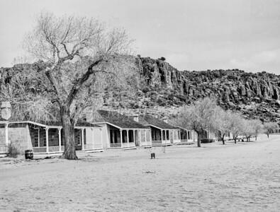 1009.512 Fort Davis Texas Classic Black and White
