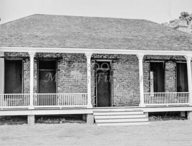 1009.509 Fort Davis Texas Classic Black and White