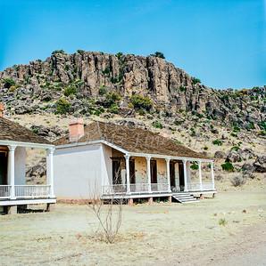 1009.007 Fort Davis Texas in Color