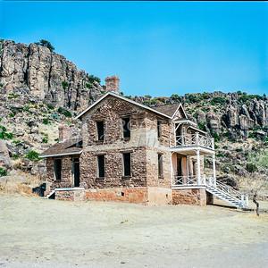 1009.009 Fort Davis Texas in Color