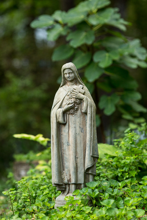 St. Therese Garden Statue