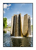Contemporary waterfalls at the Denver Botanical Garden; view the detail in the largest sizes.
