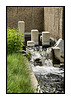 A small waterfall at the Denver Botanical Garden; view the detail in the largest sizes.