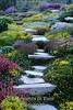 Rock garden steps